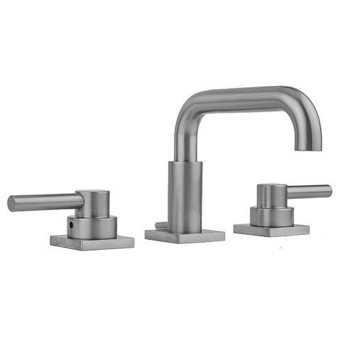 Product Image - Europa Bronze - Downtown Contempo Faucet with Square Escutcheons & Contempo Lever Handles- 0.5 GPM