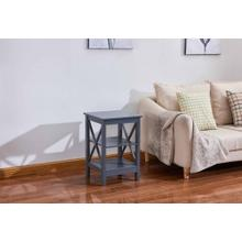 See Details - 6606 Gray End Table