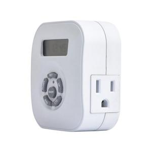 Plug-in Programmable Timer - White Product Image