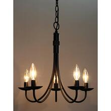 View Product - Wrought Iron AC1785EB Chandelier