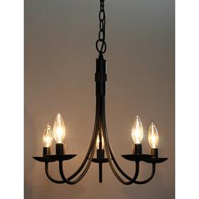 Wrought Iron AC1785EB Chandelier