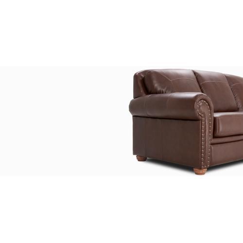 Jaymar - Harrison Sofa (003; Wood legs - Cognac C33)