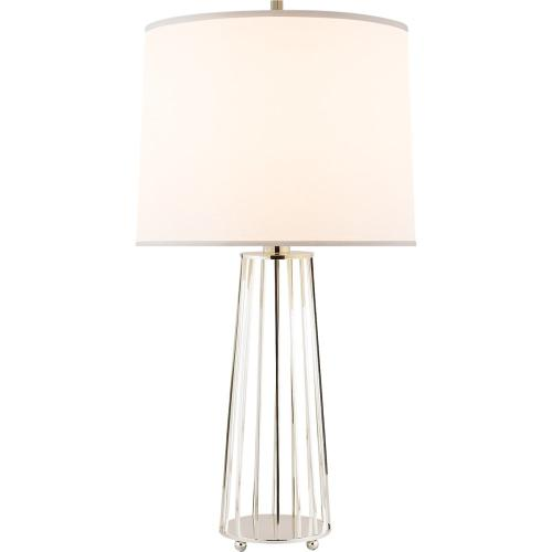 Visual Comfort BBL3008SS-S Barbara Barry Carousel 31 inch 150 watt Soft Silver Decorative Table Lamp Portable Light
