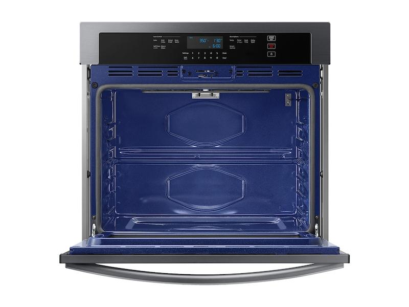 """30"""" Smart Single Wall Oven in Black Stainless Steel Photo #3"""