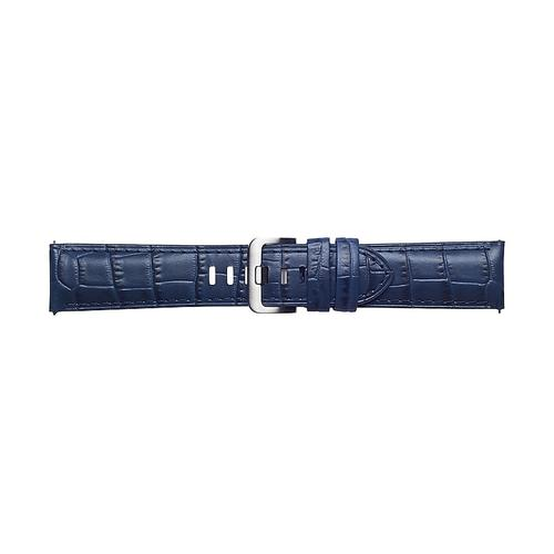 Alligator Pattern Leather Band (22mm) Navy