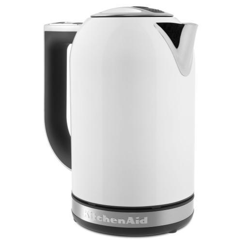 KitchenAid - 1.7 L Electric Kettle - White