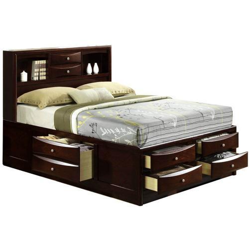 Hanover Outdoor Furniture - Cambridge Orleans Storage Queen Bed, 98126BQU-CH