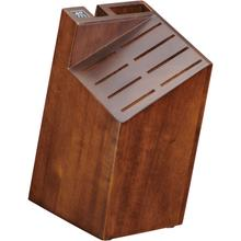 ZWILLING Four Star Walnut, Knife block empty