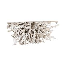 See Details - Teak Root Console Table Bleached