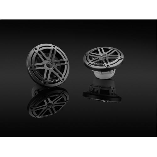 JL Audio - 6.5-inch (165 mm) Marine Coaxial Speakers, Gunmetal Sport Grilles