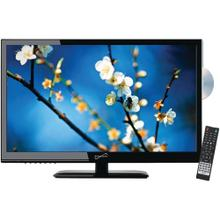 "24"" 1080p LED TV/DVD Combination, AC/DC Compatible with RV/Boat"