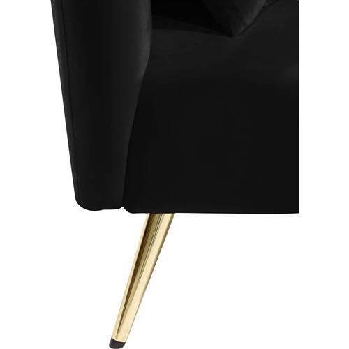 "Nolan Velvet Chaise - 81"" W x 36"" D x 32"" H"