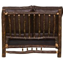 See Details - Loveseat - Natural Hickory - Standard Fabric