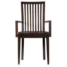See Details - Model 24 Arm Chair Wood Seat