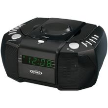 Dual Alarm Clock AM/FM Stereo Radio with Top-Loading CD Player
