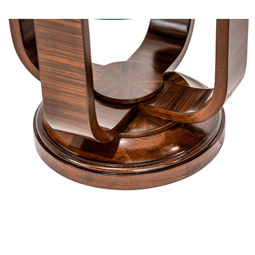 Cloche Chair Side Table Bourbon