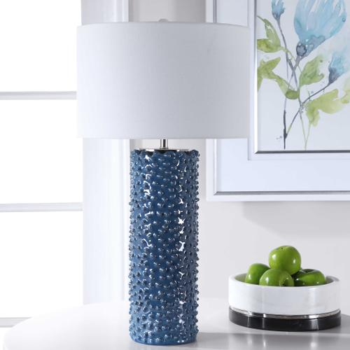 Ciji Blue Table Lamp