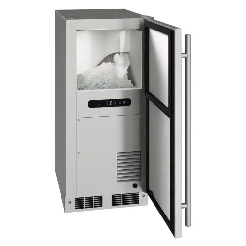 15-In Undercounter Nugget Ice Machine with Pump - Yes