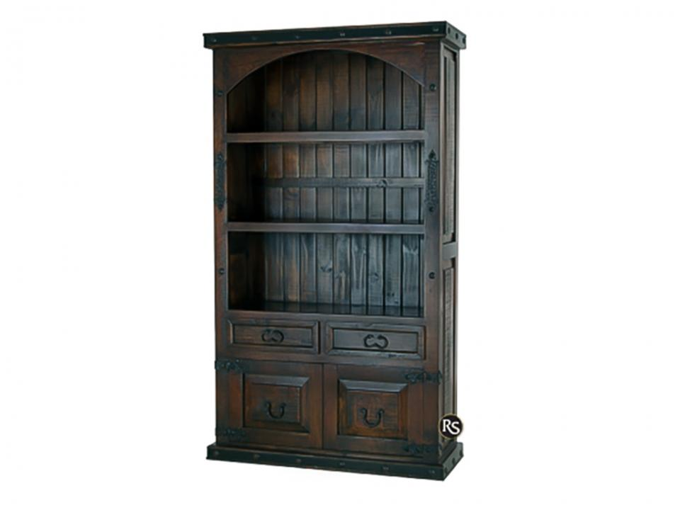 Gran Hacienda 2-Drawer 2-Door Bookcase