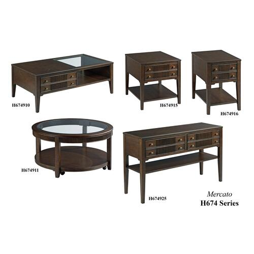 H674 Mercato Tables