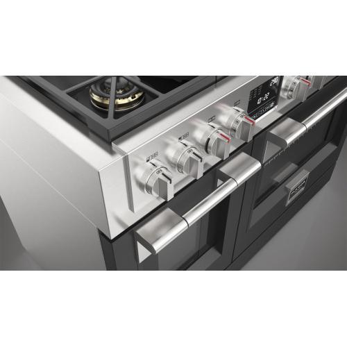 """48"""" Dual Fuel Pro Range - Matte Black"""