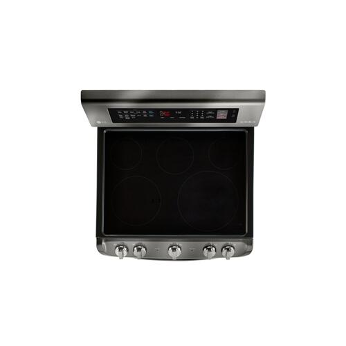 LG - 7.3 cu. ft. Electric Double Oven Range with ProBake Convection®, EasyClean® and Infrared Heating™ System