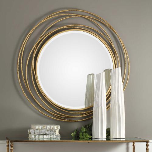 Uttermost - Whirlwind Round Mirror