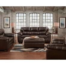 Austin Chocolate Sofa and Loveseat
