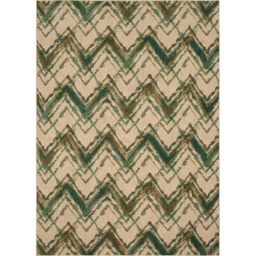 Cosmopolitan Trine Emerald 8'x11'
