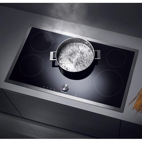 """Product Image - Gaggenau CI491612   Induction cooktop  Stainless steel frame Width 36"""""""