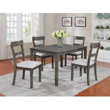 Henderson 5 Piece Grey Dining Set