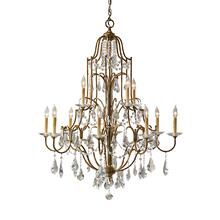 Valentina Large Chandelier Oxidized Bronze
