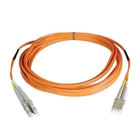 Duplex Multimode 50/125 Fiber Patch Cable (LC/LC), 20M (65 ft.)