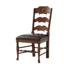 Chevron and Star Side Chair, #plain#