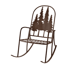 Layered Forest Rocking Chair