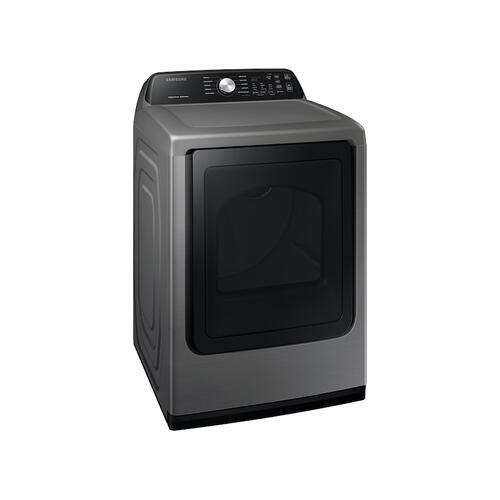7.4 cu. ft. Electric Dryer with Sensor Dry in Platinum