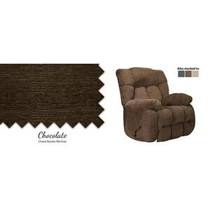 Chocolate Chaise Rocker/Recliner
