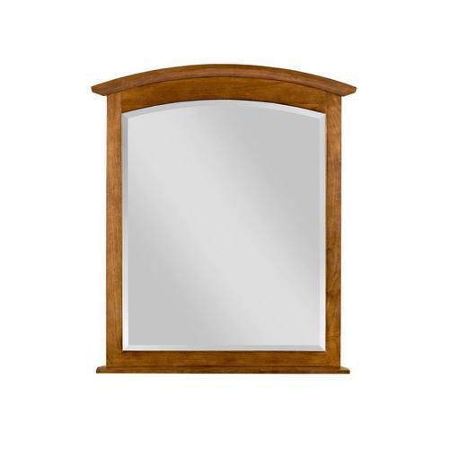 Arch Mirror Honey