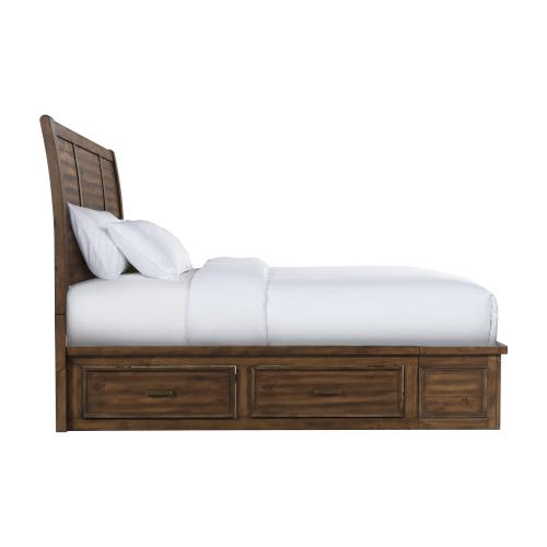 Sullivan Queen 6-Drawer Platform Storage Bed