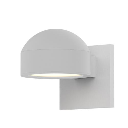 Sonneman - A Way of Light - REALS® Downlight LED Sconce [Color/Finish=Textured White, Lens Type=Dome Cap and Plate Lens]