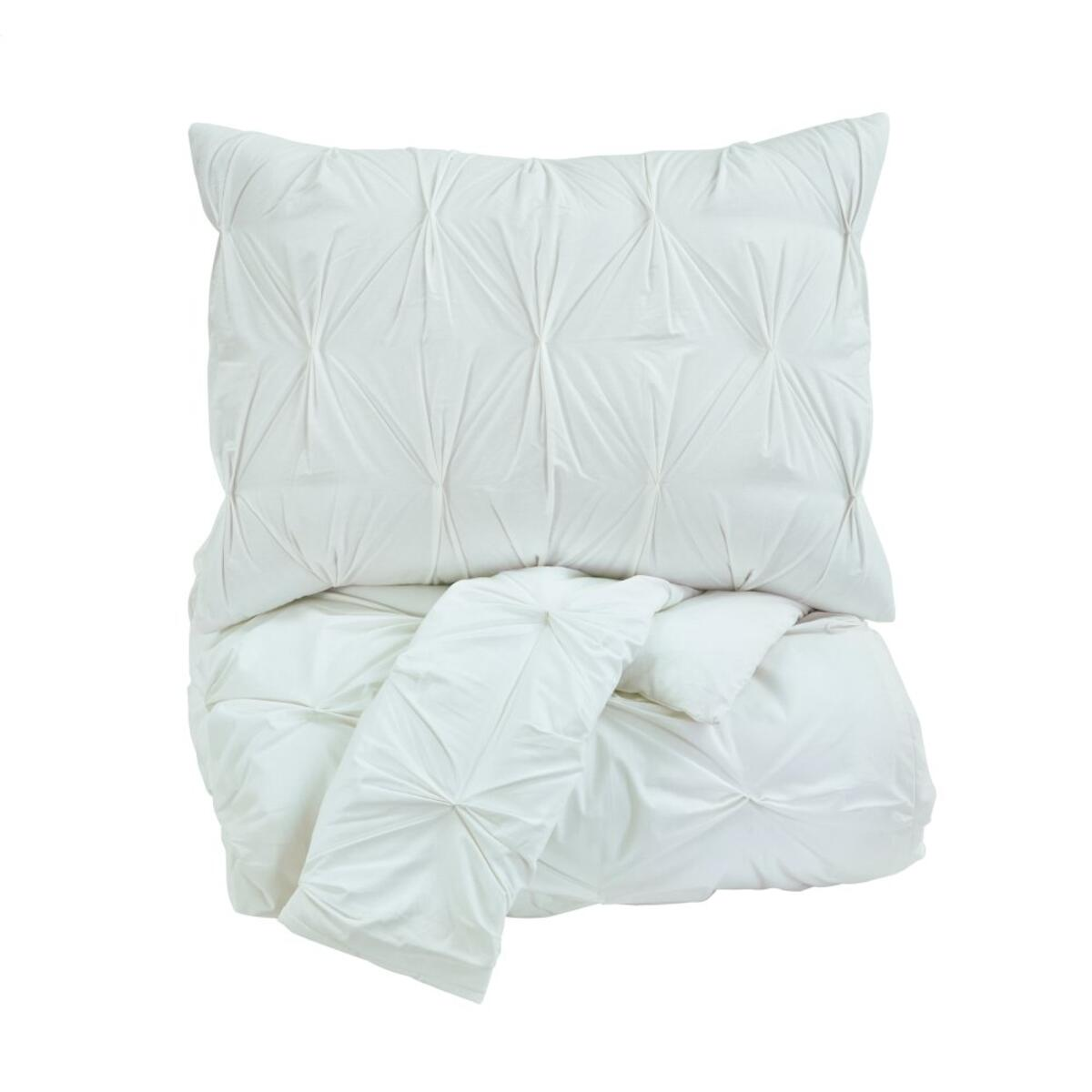 See Details - Rimy 3-piece King Comforter Set