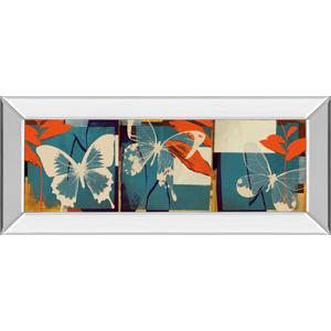 """Butterflies Viola"" By Noah Mirror Framed Print Wall Art"