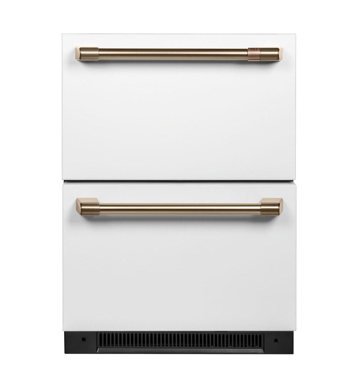 Cafe AppliancesCaf(eback)™ 5.7 Cu. Ft. Built-In Dual-Drawer Refrigerator