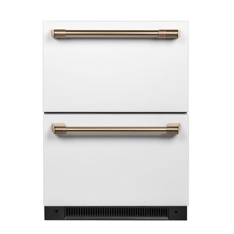 Caf(eback)™ 5.7 Cu. Ft. Built-In Dual-Drawer Refrigerator