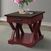 AMERICANA MODERN - CRANBERRY End Table Product Image