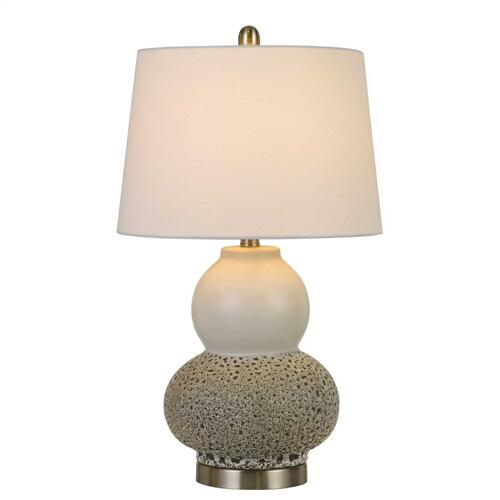 Aigio 100W On Off Ceramic Table Lamps (Sold And Priced As Pairs)