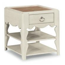 Miramar Scroll-Leg End Table