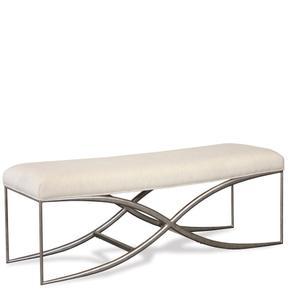 Sophie - Upholstered Bed Bench - Natural Finish