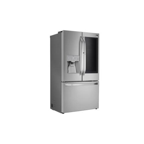 LG - LG STUDIO 24 cu. ft. Smart wi-fi Enabled InstaView™ Door-in-Door® Counter-Depth Refrigerator with Craft Ice™ Maker