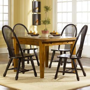 Liberty Furniture Industries - Retractable Leg Table - Oak